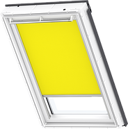VELUX Roller Blind - Bright Yellow 4073