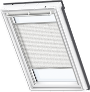 VELUX Pleated Blind - Snowy White 1255