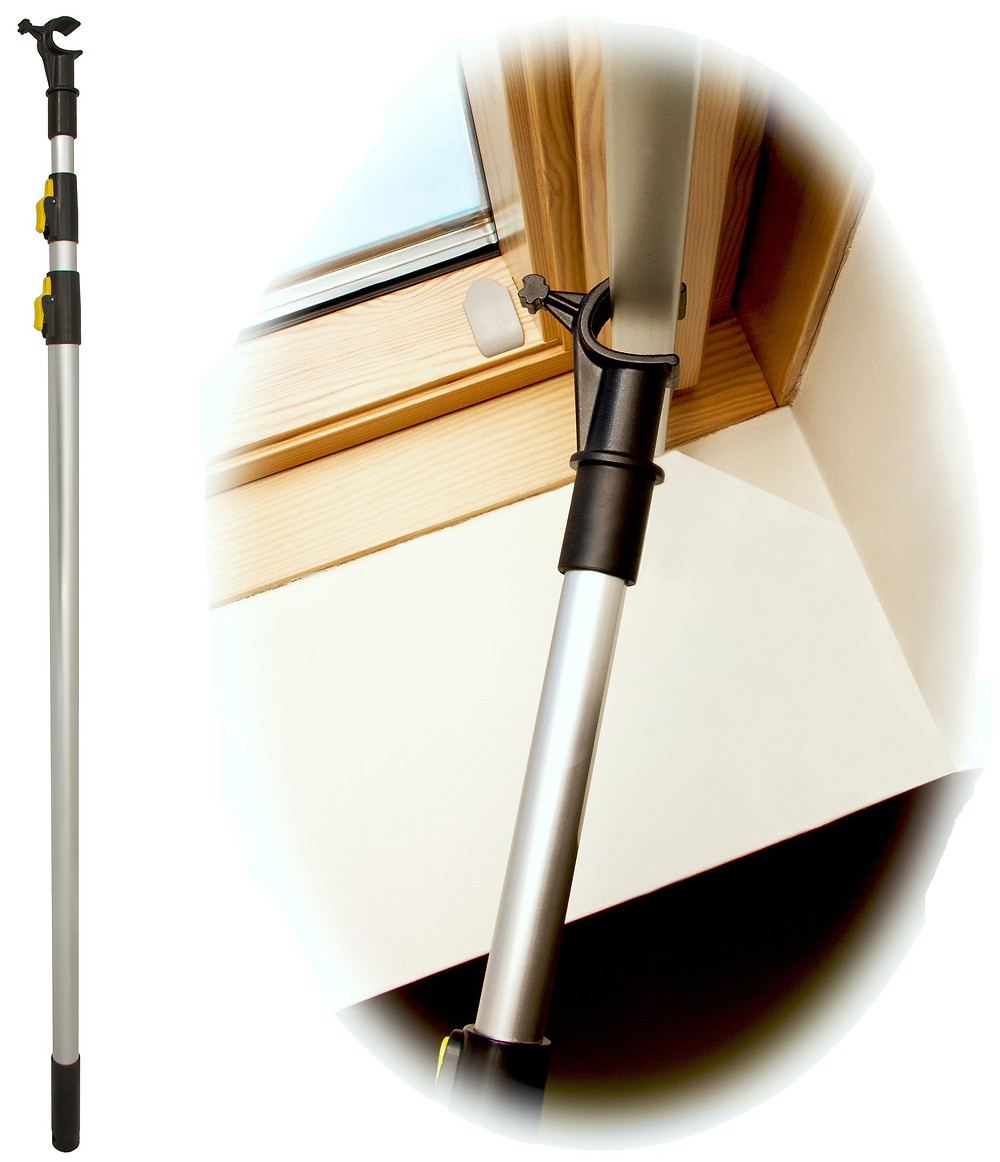Operates out of reach VELUX Windows and Blinds