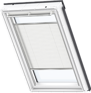VELUX Pleated Blind - White 1016