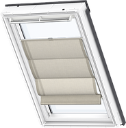 VELUX Roman Blind - Structured Cappuccino 6517