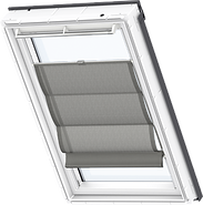 VELUX Roman Blind - Structured Black 6519