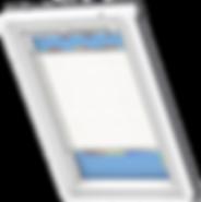 VELUX Pleated Blind - Wavy White 1257
