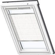VELUX Pleated Blind - Wavy White 1257