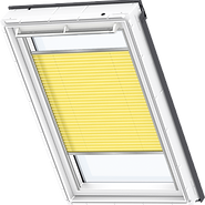 VELUX Pleated Blind - Sunny Yellow 1271