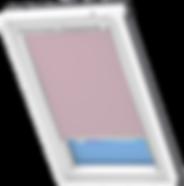 VELUX Blackout Blind - Pale Pink 4565