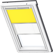 VELUX Duo Blind - Bright Yellow/ White - 4570/1016