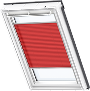 VELUX Pleated Blind - Classic Red 1269