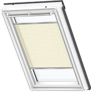 VELUX Pleated Blind - Delightful Cream 1258