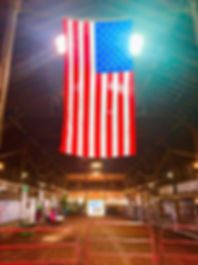 Flag at the Miami County Fair 2019.JPG