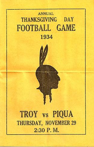 Troy High School vs Piqua Football Progr