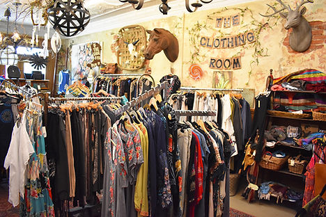 The Clothing Room at The Hotel Gallery.J