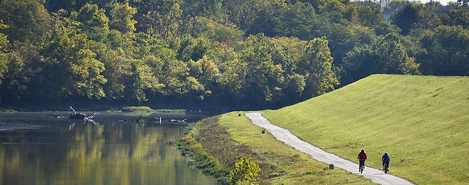 Bikers By the River in Piqua 1.jpg