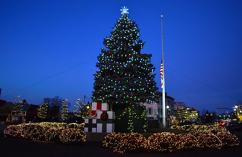 Downtown Troy Christmas Tree with Saturation.jpg