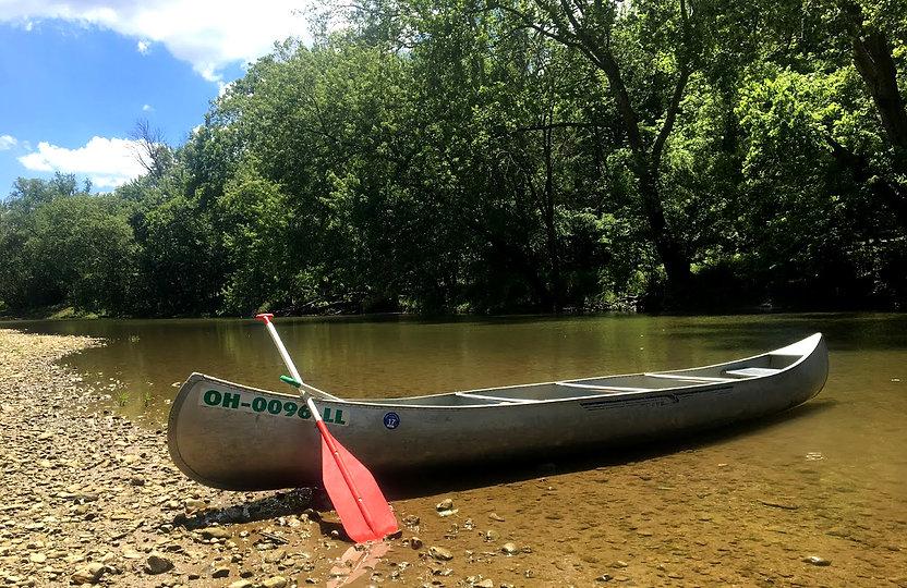Canoe in Water.JPG