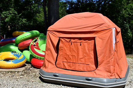 Shoal Tent at Adventures on the Great Mi