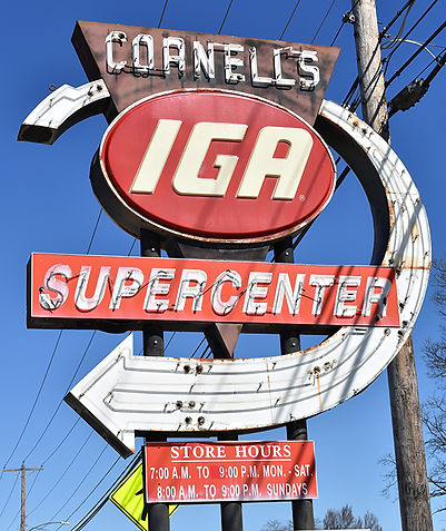 IGA Sign in Shelby.jpg