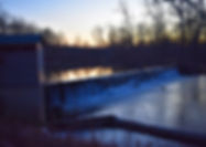 Bears Mill Spillway Christmas Light Walk