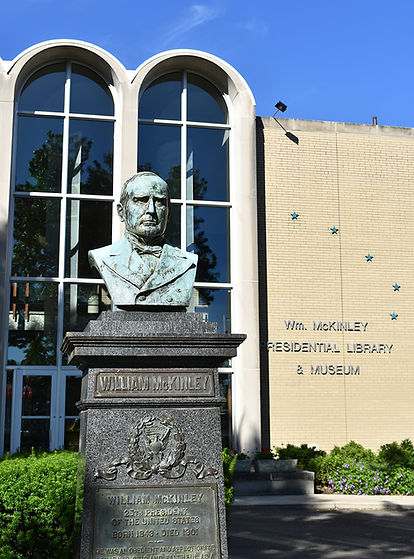 McKinley Museum and Bust.JPG