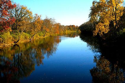 Stillwater River in the Fall Original LA