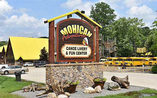 Mohican Adventures Loundonville - Route