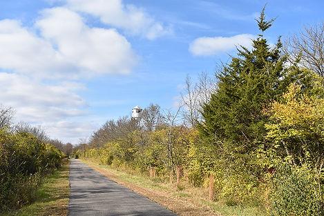 Bike Path Recreational Trail Near ConAg.