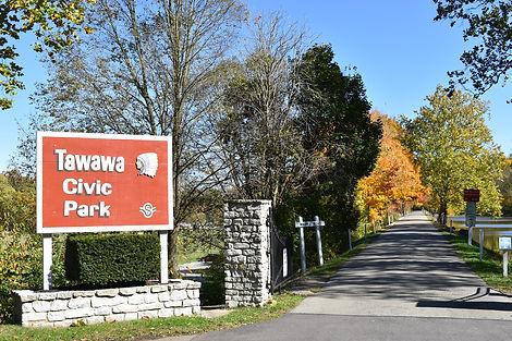 Tawawa Civic Park Sign Sidney Fall.jpg