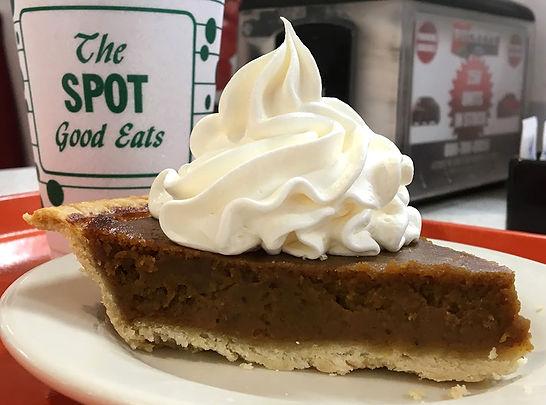 Pumpkin Pie at the Spot.JPG