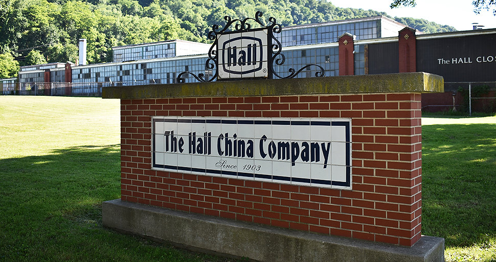 The Hall China Company Route 39 East Liv