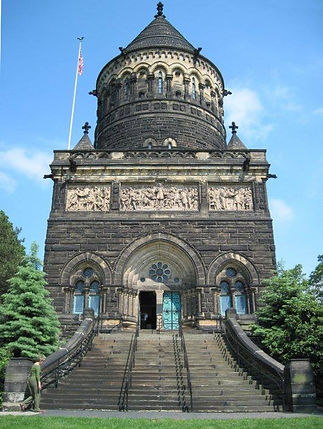 Garfield Monument at Lake View Cemetery