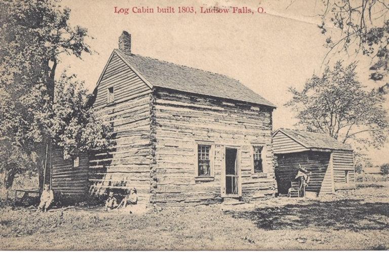 Ludlow Falls Cabin Built 1803 - Post Car