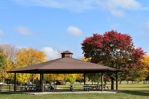 A Fall Scene at Kyle Park and Gazebo.JPG