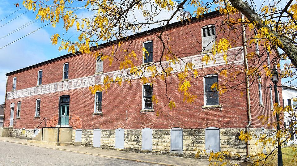 Saunders Seed Building in the Fall.jpg