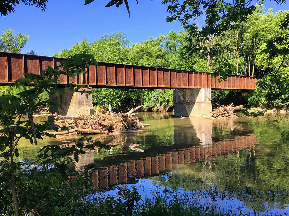 Troy Bike Trail Tressle Bridge.JPG
