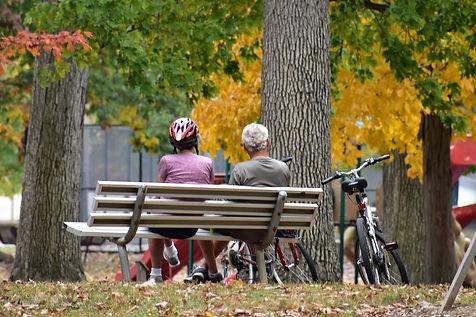 Cyclists at City Park.JPG