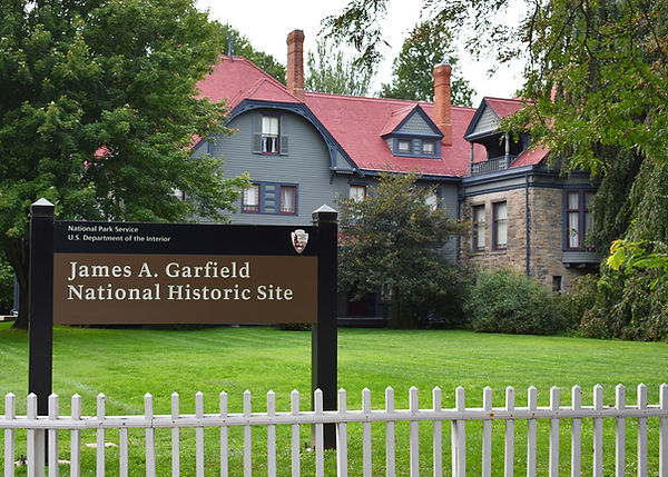 James A Garfield National Historic Site.