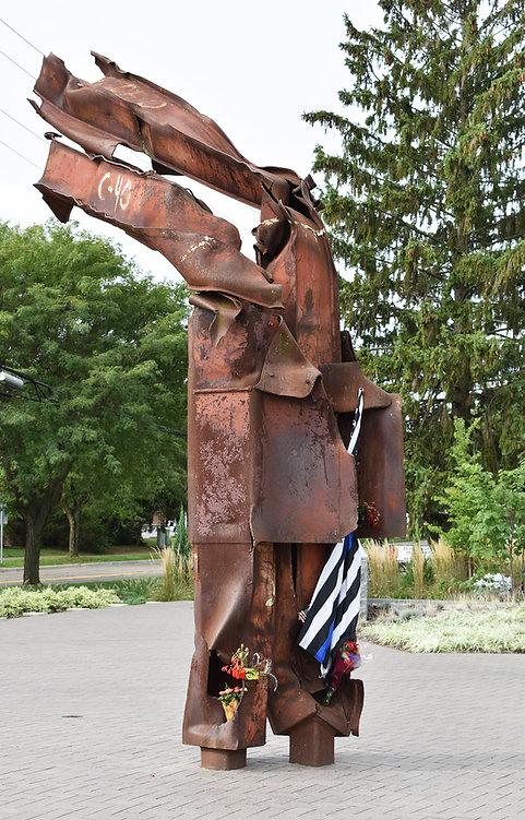 Westerville 911 Memorial.JPG