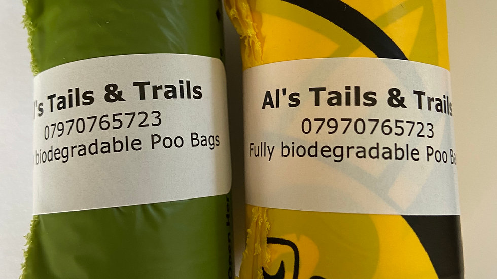 Large Poo Bags - Fully Biodegradable
