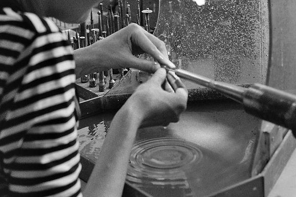 stone grinding_work in progress_Triin Ku