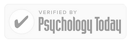 Text: Verified by Psychology Today