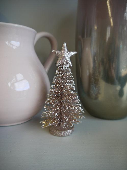 Mini Glitz Christmas Tree - Rose Gold