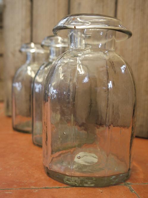 Small Vintage Style Glass Bud Vase