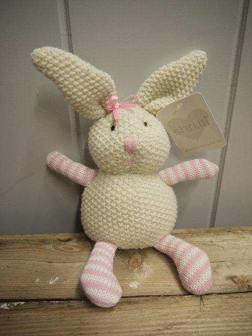 Knitted Rosie Rabbit