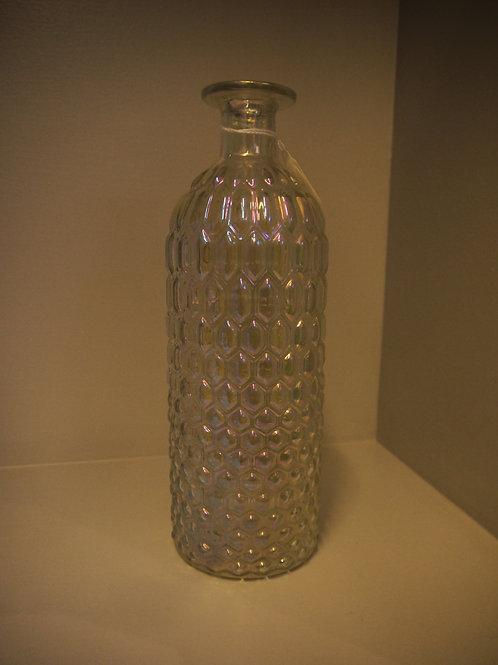 Iridescent Geo Glass Vase