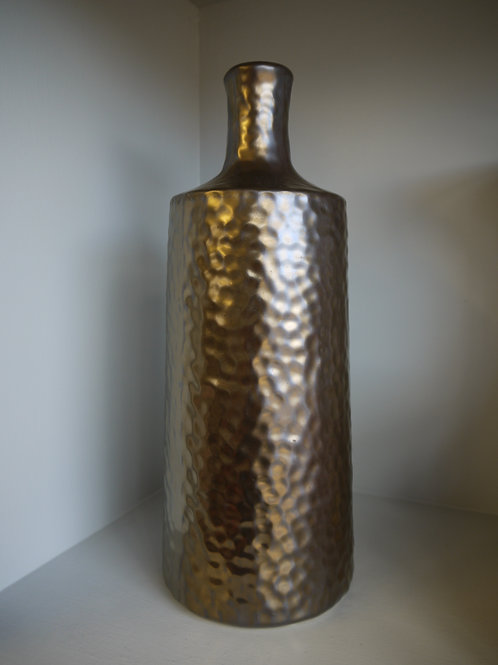 Bronze Dappled Vase