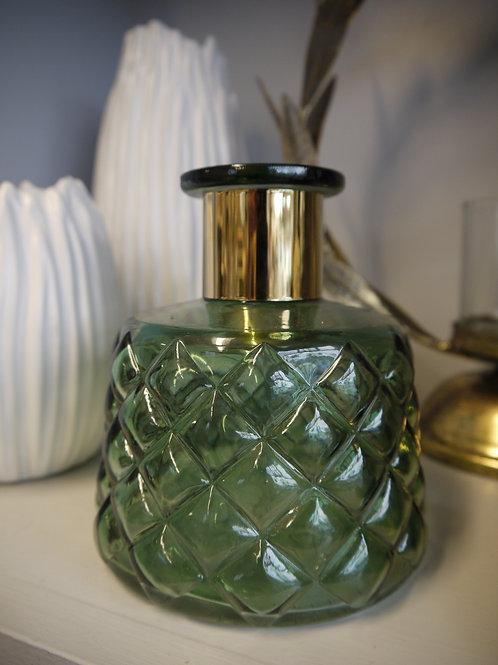 Deep Green Apothecary Vase