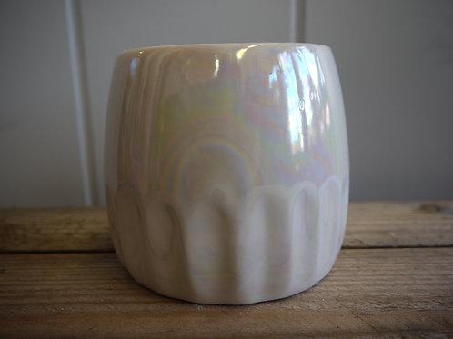 Iridescent Small Pot