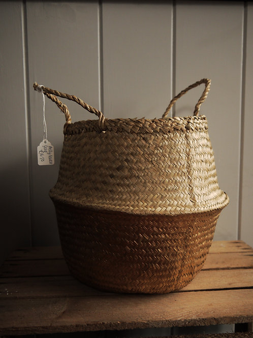 Belly Basket - Gold - Medium