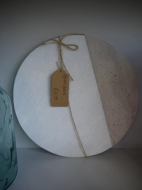 Marble Cheese Chopping Board