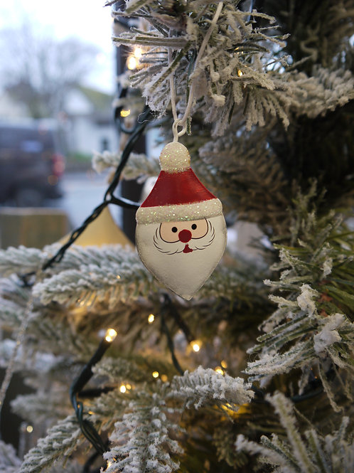 Mini Santa Bell Decoration